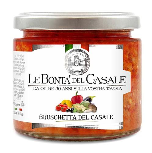"""Bruschetta """"del Casale"""" semi piccante"""