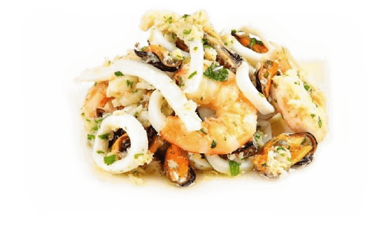 "Seafood salad "" Atlantica"" in oil"