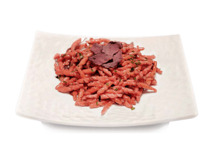 Strozzapreti  red wine flavored