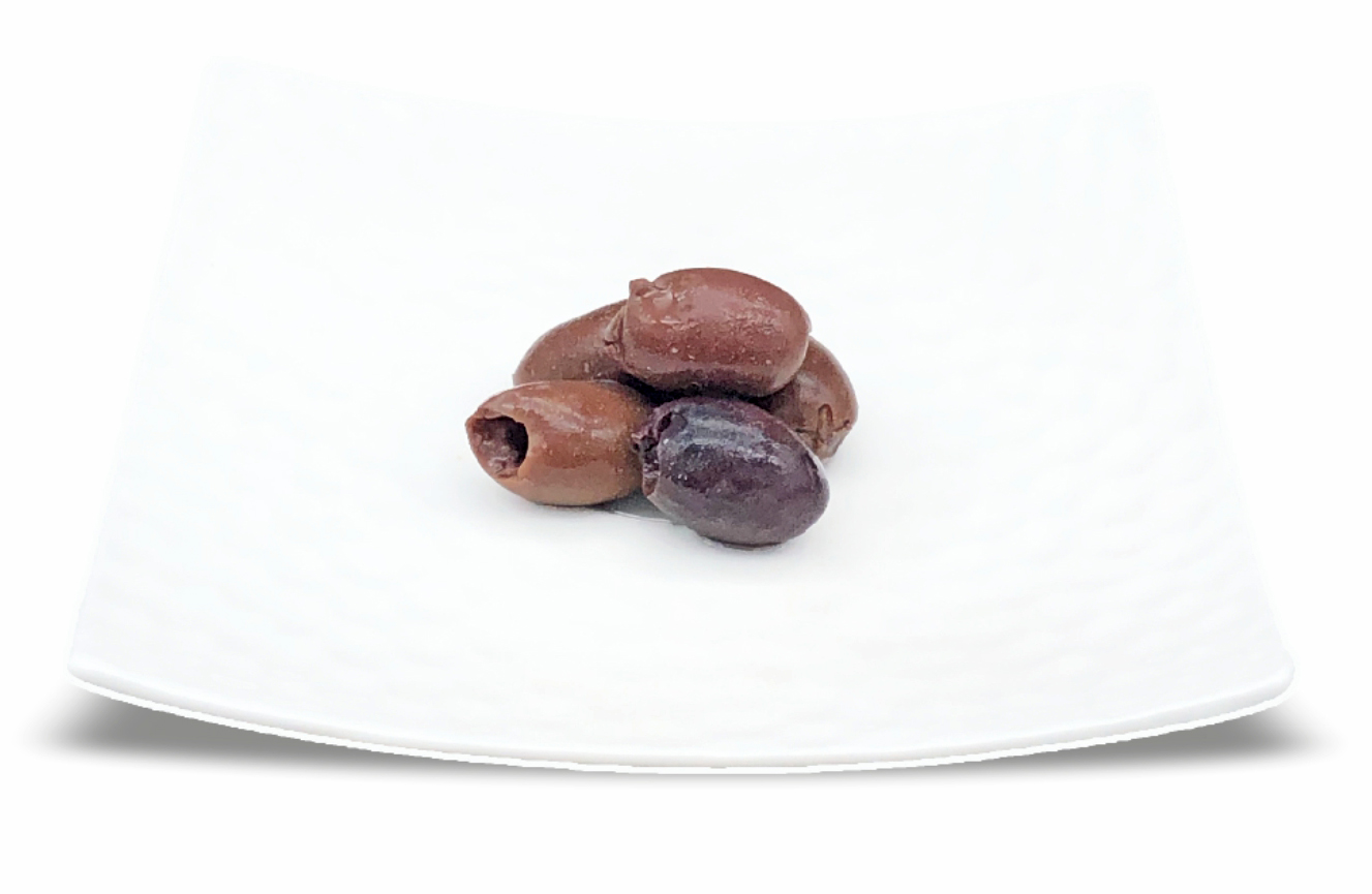 "Pitted olives ""naturals"" in brine"