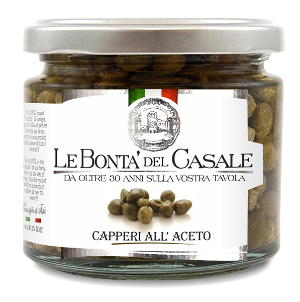 Capperi all'aceto