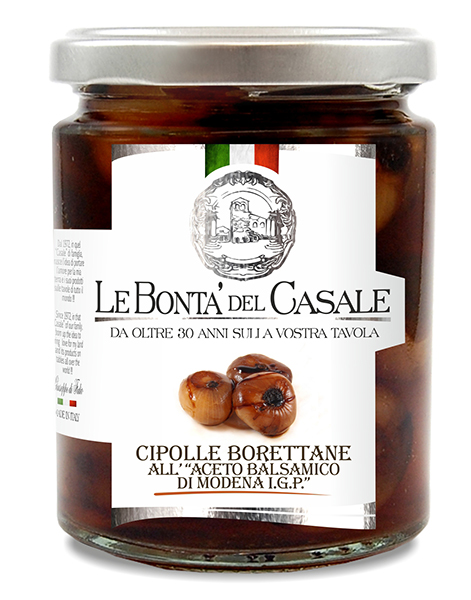 """Borettane"" Onions with  Balsamic vinegar of Modena I.G.P."