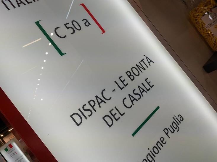 """DI.S.PA.C s.r.l. """"Le Bontà del Casale"""" ha annunciato la sua presenza ad Anuga - Colonia"""