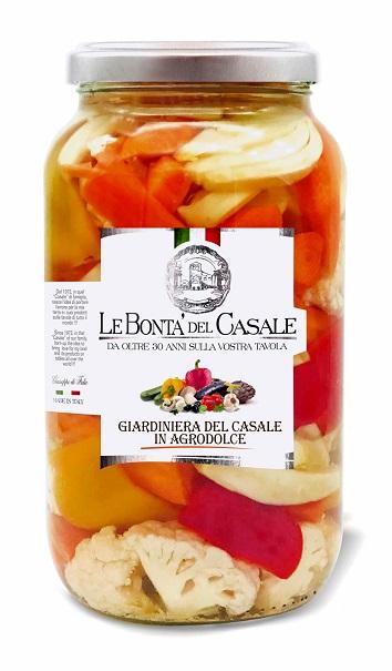 "Pickled vegetables ""del casale"" sweet and sour"