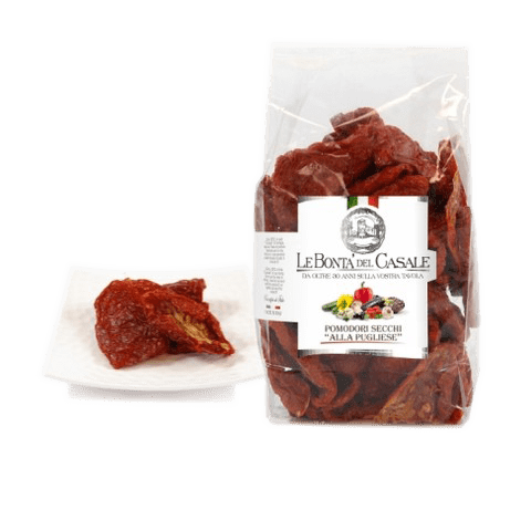 Sundried tomatoes in bags