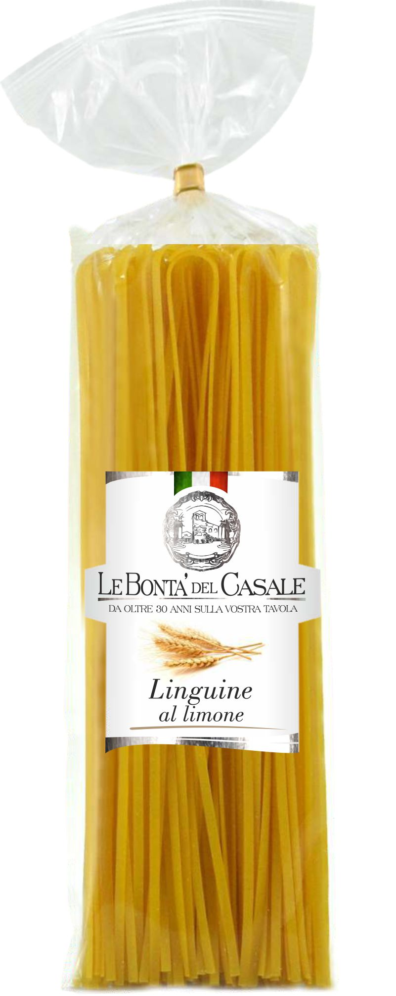 Linguine lemon flavored
