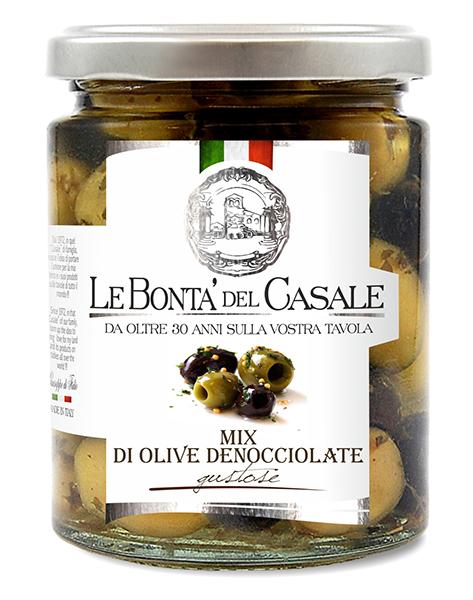 """Mix di olive denocciolate """"gustose"""" in olio"""
