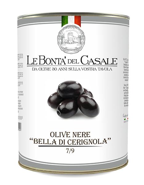 "Black olives ""Bella di Cerignola"" in brine"