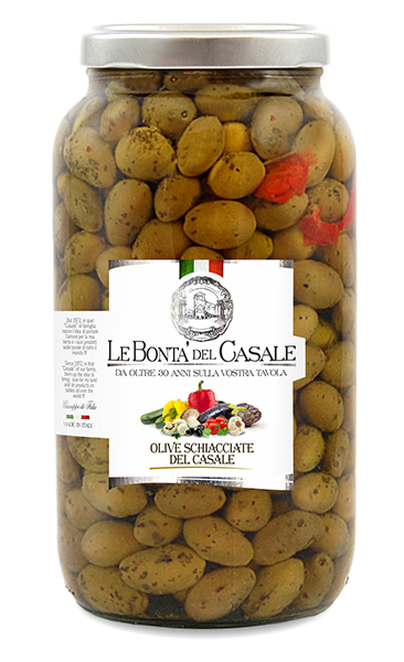 Olives broyées
