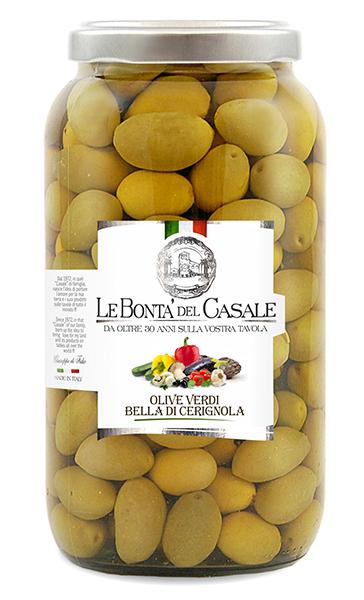 Bella di Cerignola olives vertes
