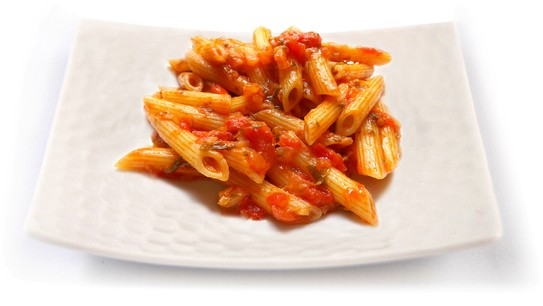 Tomato sauce with grilled vegetables